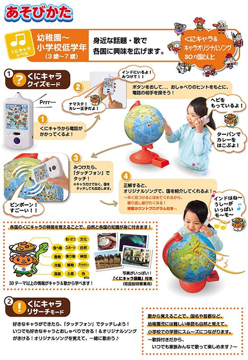 【40%OFF】くにキャラ地球儀の商品画像3