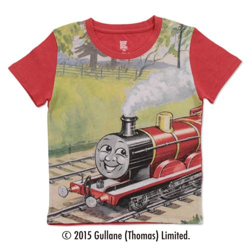(90cm)きかんしゃトーマスTシャツ(ジェームス レッド)の商品画像2