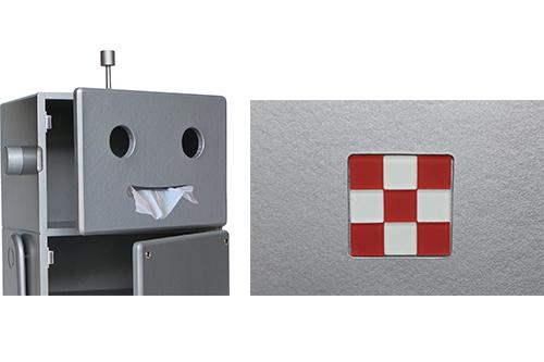 収納ロボ Robit(ロビット)シルバーの商品画像2