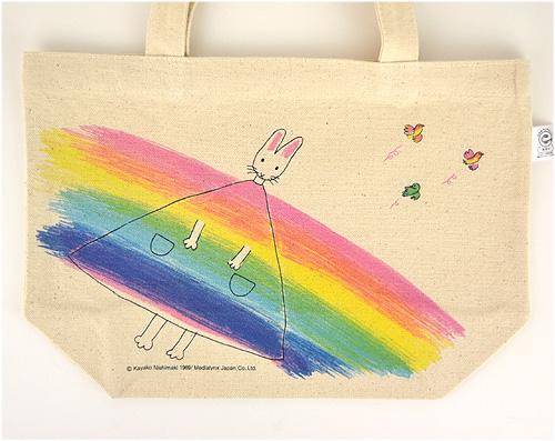 わたしのワンピース ミニトートバッグ 虹のワンピースの商品画像5