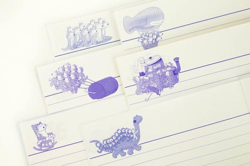 11ぴきのねこ 6冊ミニノートセットの商品画像2