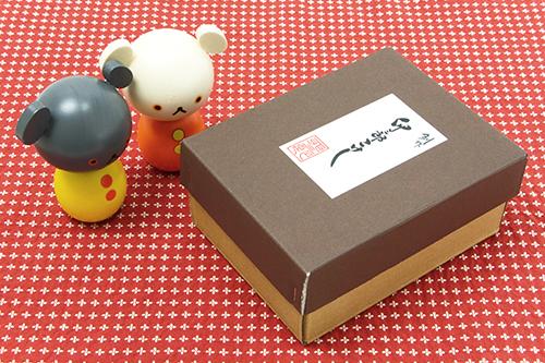 卯三郎こけし こぐまちゃんこけし(2体セット)の商品画像6