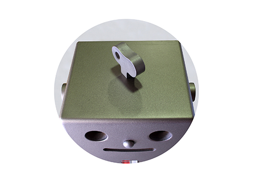 卓上型サラウンド収納ロボ PICO(ピコ) ダークシルバーの商品画像2