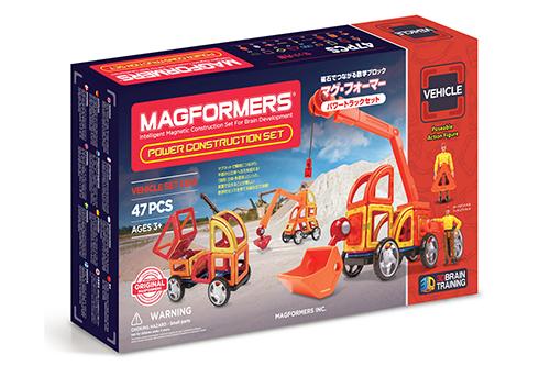 ボーネルンド マグ・フォーマー パワートラックセット47の商品画像4
