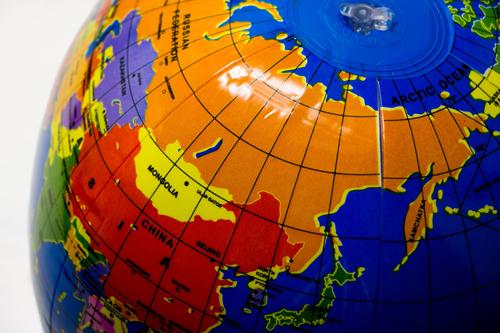 ビーチボール地球儀 30�pの商品画像2