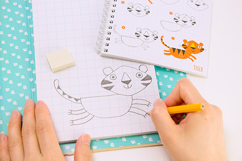 イラストの描きかたノート 動物