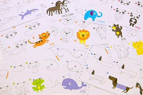 イラストの描きかたノート 動物の商品画像3