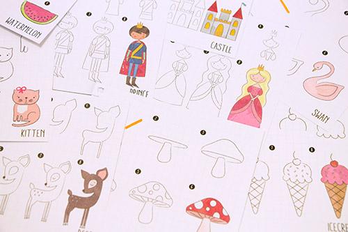 イラストの描きかたノート 女の子の商品画像3