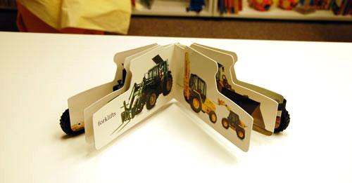走る絵本 トラクターの商品画像3