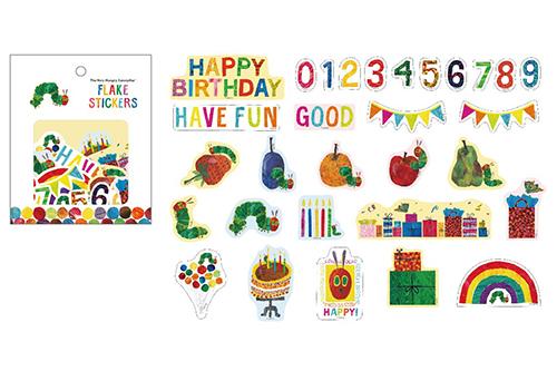 エリック・カール フレークステッカー30枚入 Partyの商品画像2