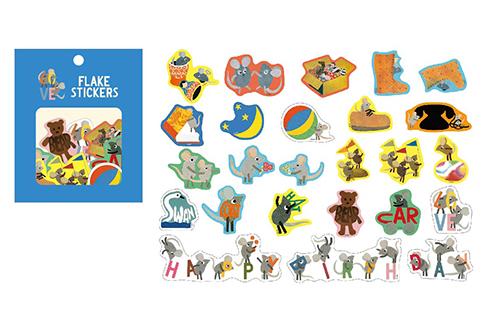 レオ・レオニ フレークステッカー25枚入 Alphabetの商品画像2