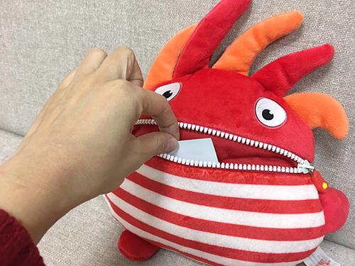 ウォーリーイーター ぬいぐるみ(シュノリ)Mの商品画像6