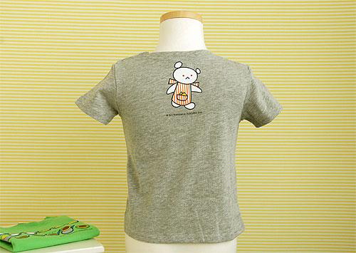 しろくまちゃん Tシャツ 110cm ほっとけーき グレーの商品画像2