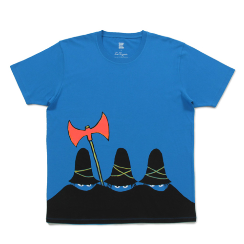 (M)すてきな三にんぐみTシャツブルーの商品画像1