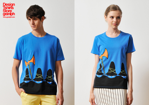 (M)すてきな三にんぐみTシャツブルー