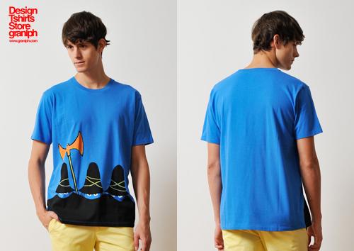 (M)すてきな三にんぐみTシャツブルーの商品画像5