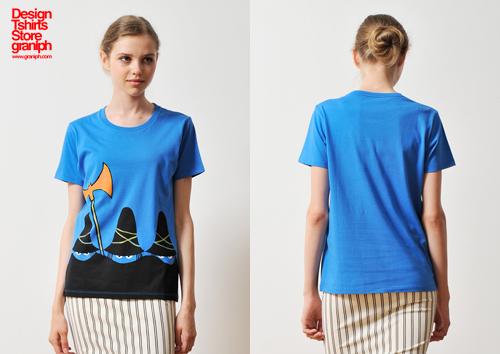 (M)すてきな三にんぐみTシャツブルーの商品画像6