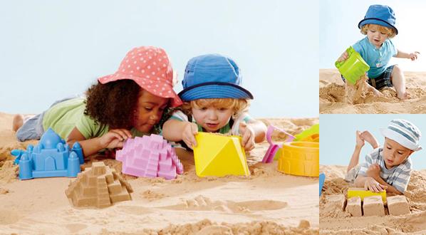 外遊びのススメ!(1) 砂遊びを何倍もワクワクさせてくれるシリーズ「SAND & SUN」