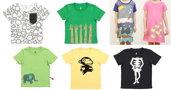何の作品かわかりますか? ワクワクするキッズTシャツ!|五味太郎× グラニフ(4)