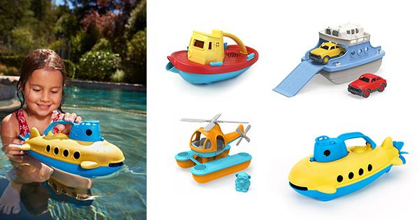 外遊びのススメ!(3) ボートにフェリーに潜水艦まで!?水遊びで大活躍のおもちゃ