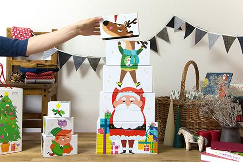 縦に積み上げていけば…!?クリスマスパーティーを盛り上げてくれるグッズ(2)