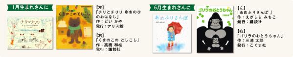 絵本ナビ 磯崎編集長選 『お誕生月』でセレクトした絵本ガイドができました