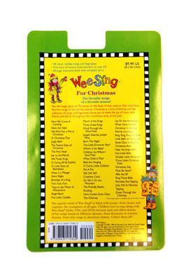 クリスマスソングCD&ブック(Wee Sing For Christmas)