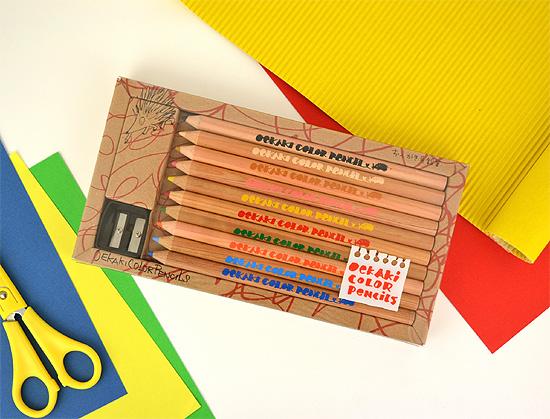 おえかき色鉛筆(10本)