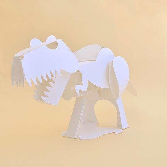 恐竜ペーパークラフト ティラノサウルス