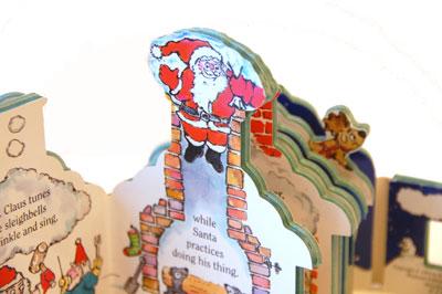 サンタさんの工場絵本(Santa's Workshop)