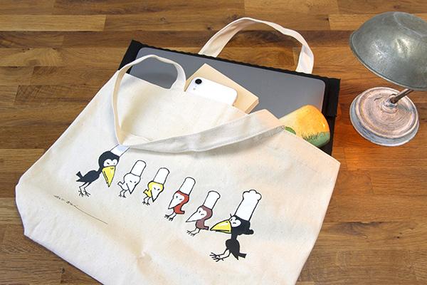 『からすのパンやさん』『からすのおかしやさん』 限定トートバッグギフトセット