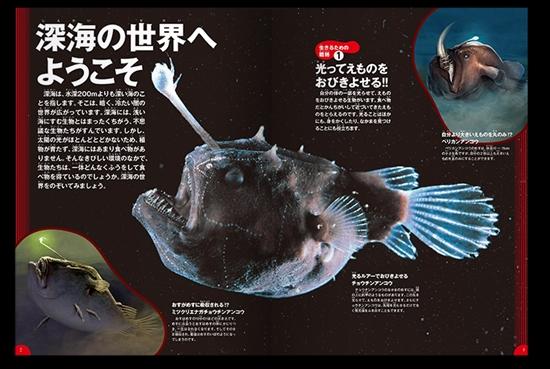 学研の図鑑 第15巻 LIVE 深海生物
