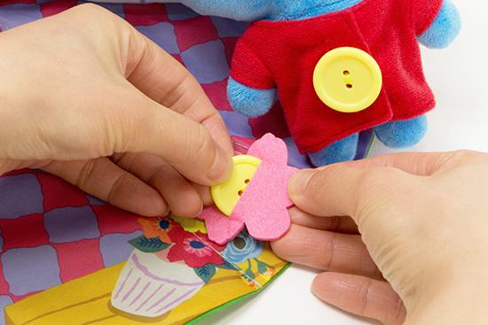 お世話遊びとボタンの練習 ペネロペのおうち ペネロペマスコット付き