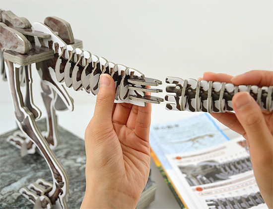 きみが作る ティラノサウルス