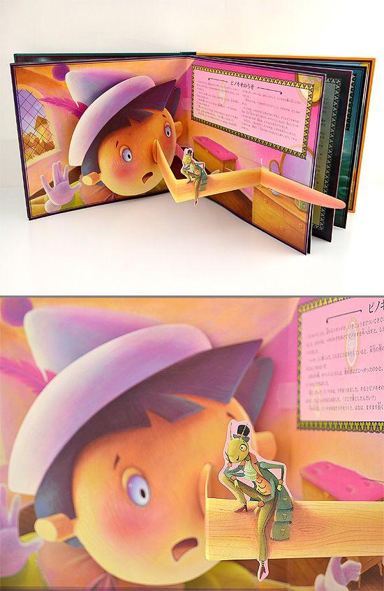 メロディポップアップ ピノキオ