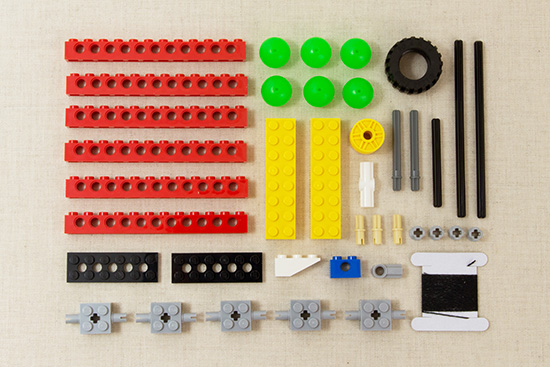 カラコロピタン!レゴブロックで作るからくり装置