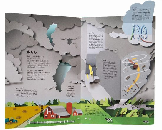 めくって発見!地球と天気の絵事典