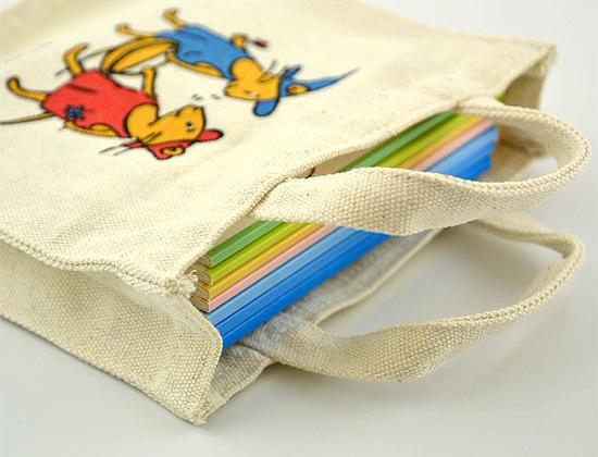 【ミニトートバッグ付き50周年限定セット】 ぐりとぐらといっしょにおでかけ絵本