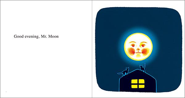 Good Evening Mr.Moon おつきさまこんばんは