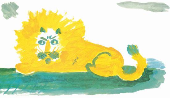 てつがくのライオン