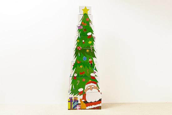 1さいからの育脳あそび かさねて ならべて クリスマス