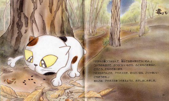 あんこ 2 子ネコの「あんこ」里山の夜