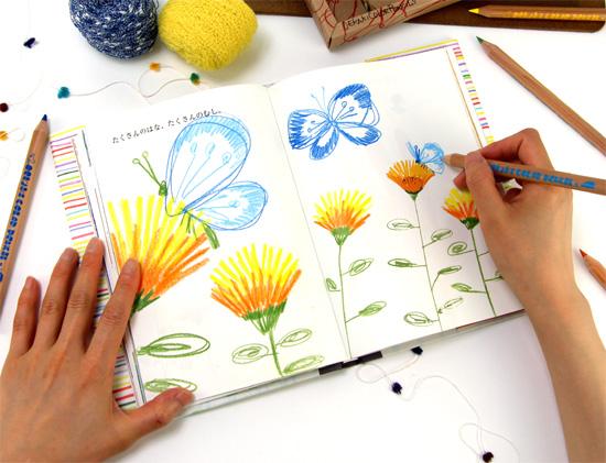 おえかきブック Single 子どもが描く思い出絵本