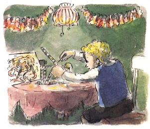 ウェールズのクリスマスの想い出