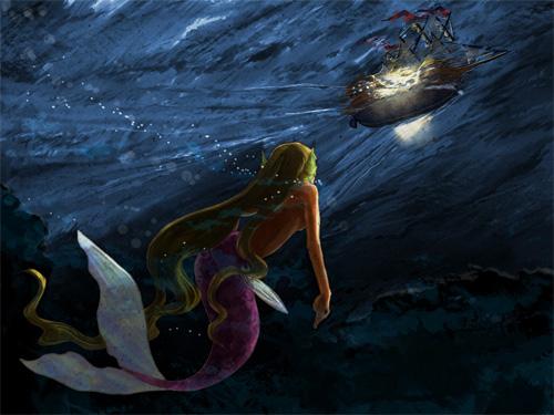 (デジタル)人魚姫