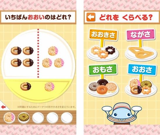 (デジタル)ミスタードーナツ×ワオっち!くらべてみよう!