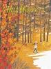 秋は林をぬけて