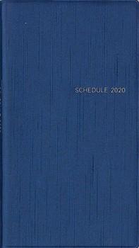 シンプル手帳 藍(あい) 2020年1月始まり