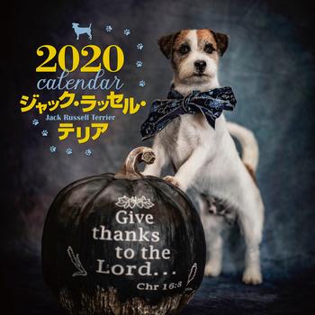 2020年 大判カレンダー ジャック・ラッセル・テリア