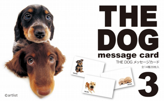 THE DOG message card 3
